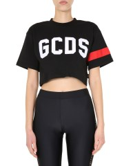 GCDS - T-SHIRT CROPPED