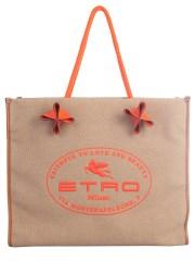 ETRO - BORSA SHOPPER CON LOGO