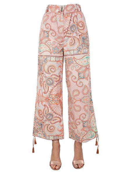 Etro - Pantalone Con Stampa