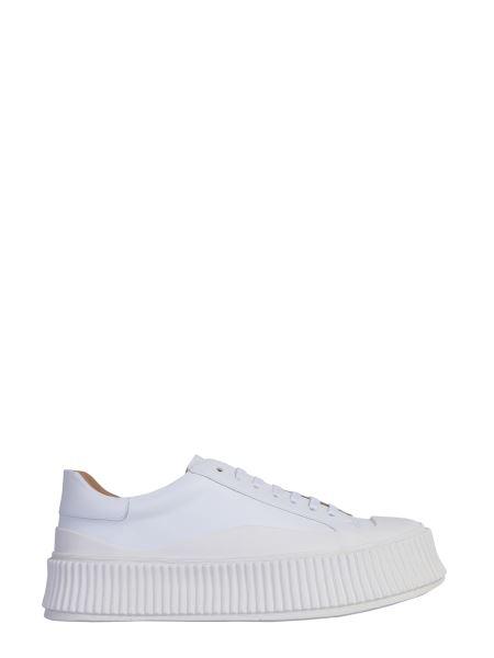 Jil Sander - Leather Sneakers