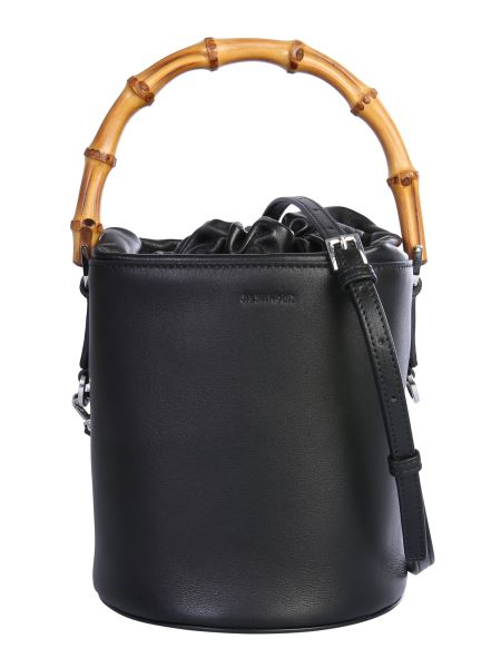 Jil Sander - Small Leather Bucket Bag