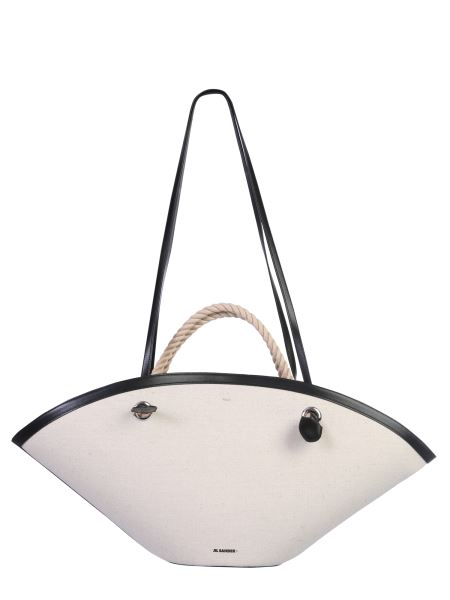 "Jil Sander - ""sombrero"" Canvas Bag"