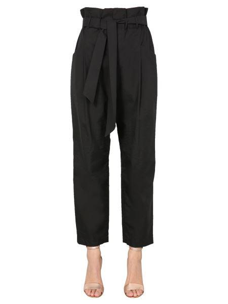 Brunello Cucinelli - Techno Cotton Poplin Eighties Pants With Belt
