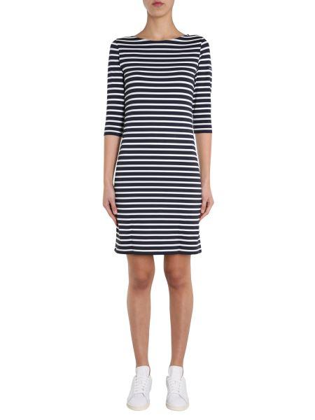 "Saint James - ""propriano Ii"" Dress With Striped Pattern"