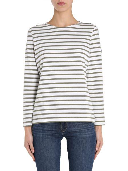 "Saint James - ""minquidame"" Cotton T-shirt With Striped Pattern"