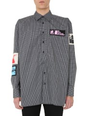 RAF SIMONS - CAMICIA OVERSIZE FIT