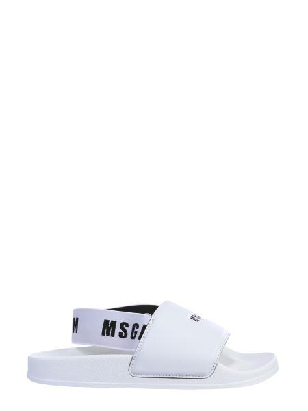 Msgm - Logo Slide Sandals