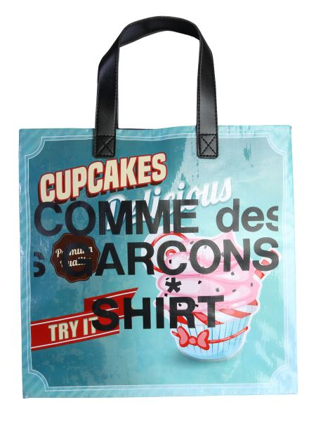 "Comme Des Garcons Shirt - Borsa ""tote Multicolor Delicious"""