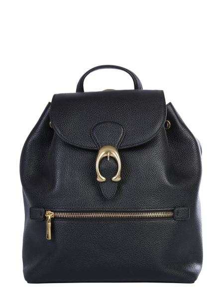 """Coach Ny - """"evie"""" Hammered Leather Backpack"""