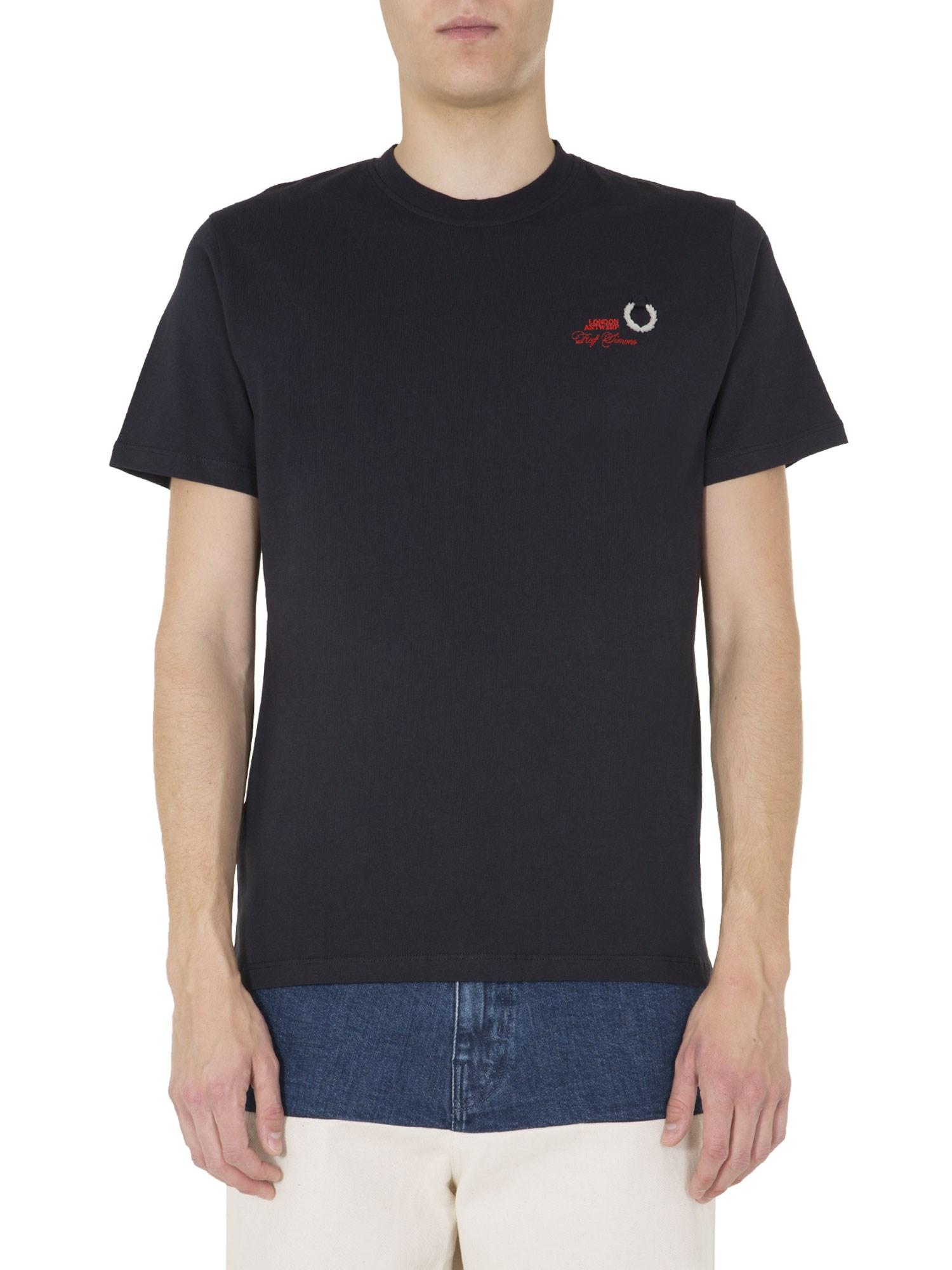 Round neck t-shirt - fred perry x raf simons - Modalova