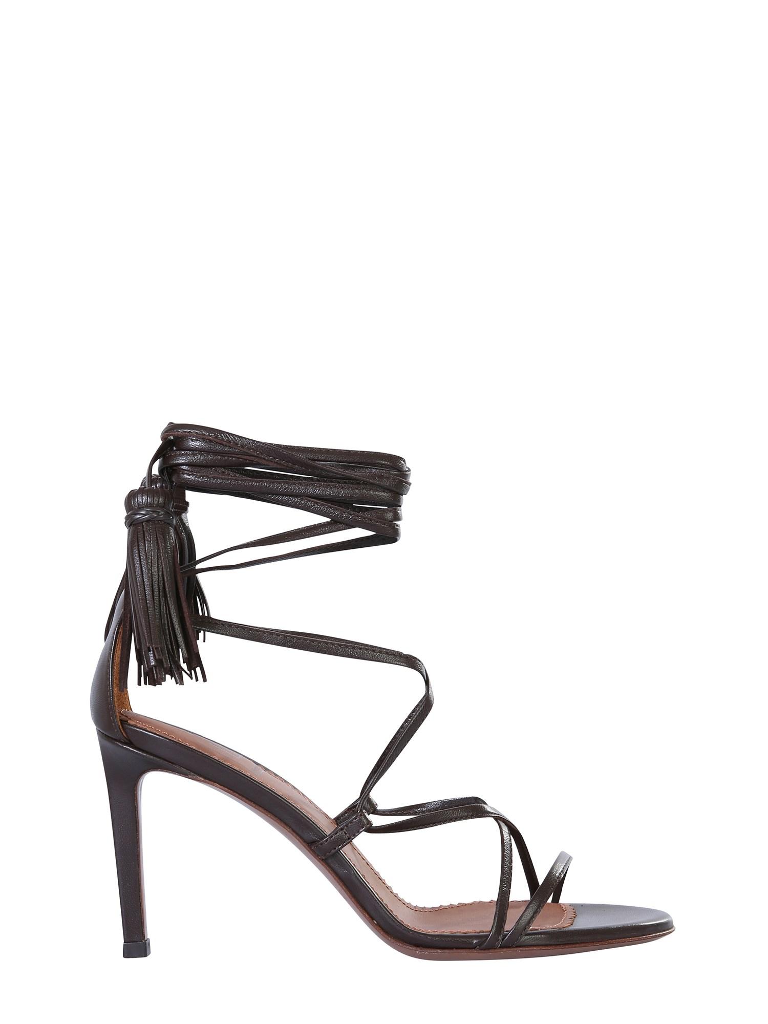 L'autre Chose Lux Nappa Sandals