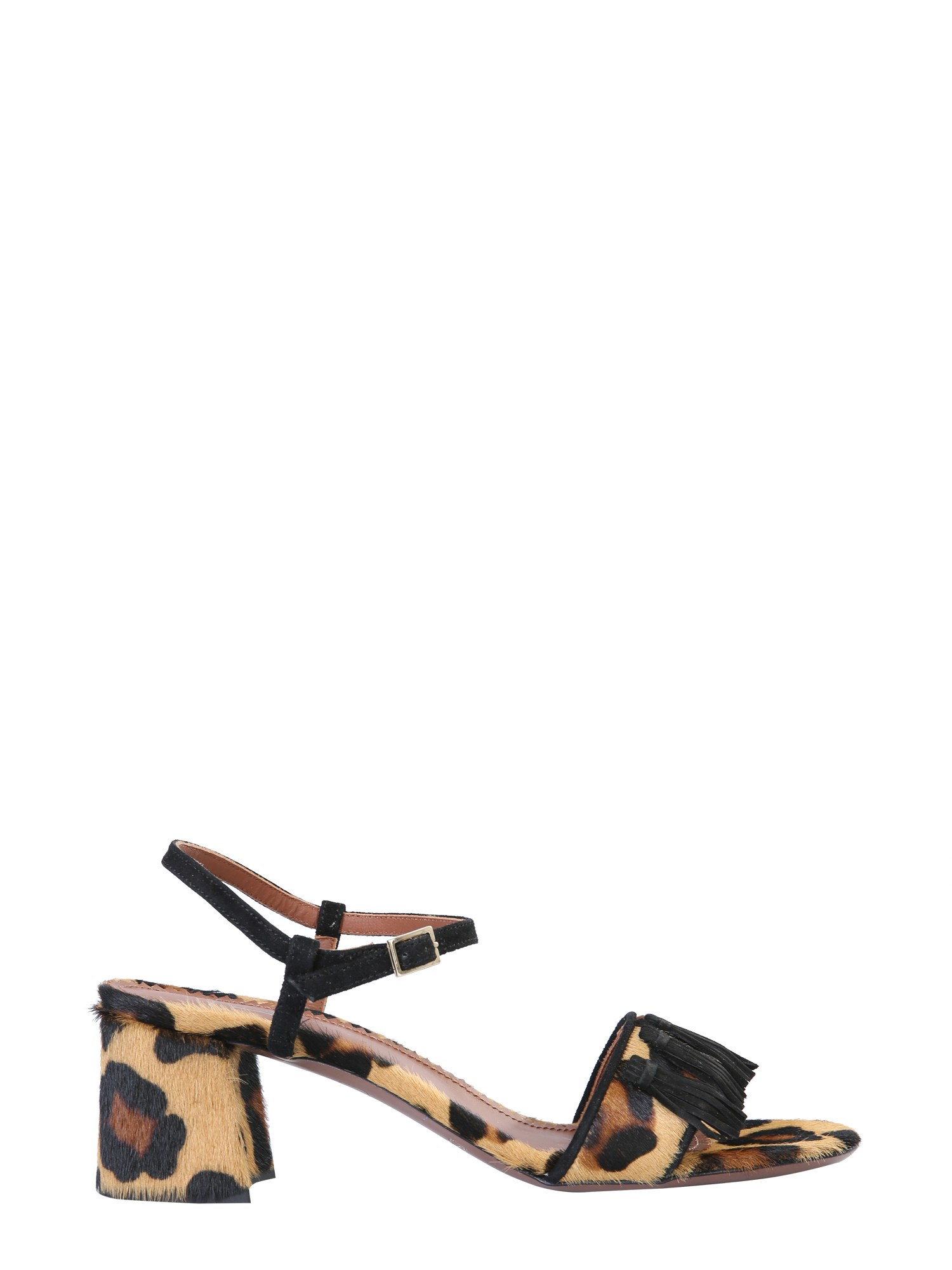 Sandals with animal print - l'autre chose - Modalova