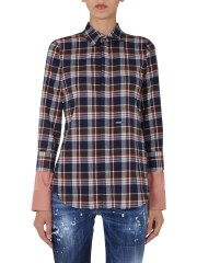 DSQUARED - CAMICIA IN FLANELLA