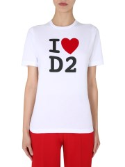 DSQUARED - T-SHIRT GIROCOLLO