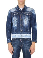 DSQUARED - GIACCA IN DENIM