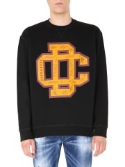 DSQUARED - FELPA COLLEGE FIT
