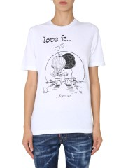 DSQUARED - T-SHIRT RENNY FIT
