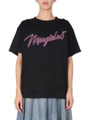 MM6 MAISON MARGIELA - T-SHIRT GIROCOLLO