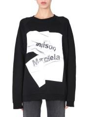 MAISON MARGIELA - FELPA GIROCOLLO