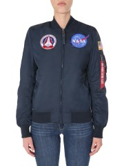 "ALPHA INDUSTRIES - BOMBER ""MA-1 TT NASA"""