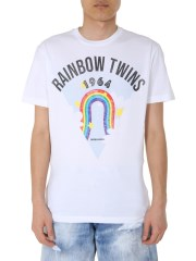 "DSQUARED - T-SHIRT ""RAINBOW"""