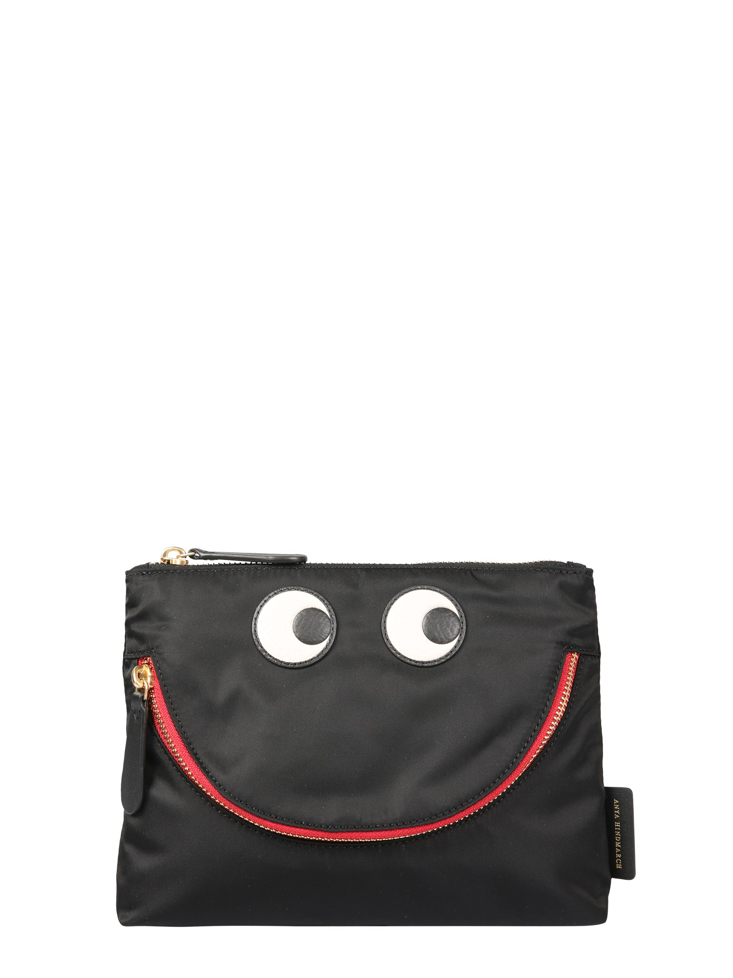"Anya Hindmarch ""HAPPY EYES"" POUCH"