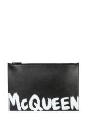 ALEXANDER McQUEEN - POUCH CON LOGO