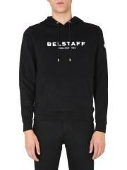 BELSTAFF - FELPA CON CAPPUCICO