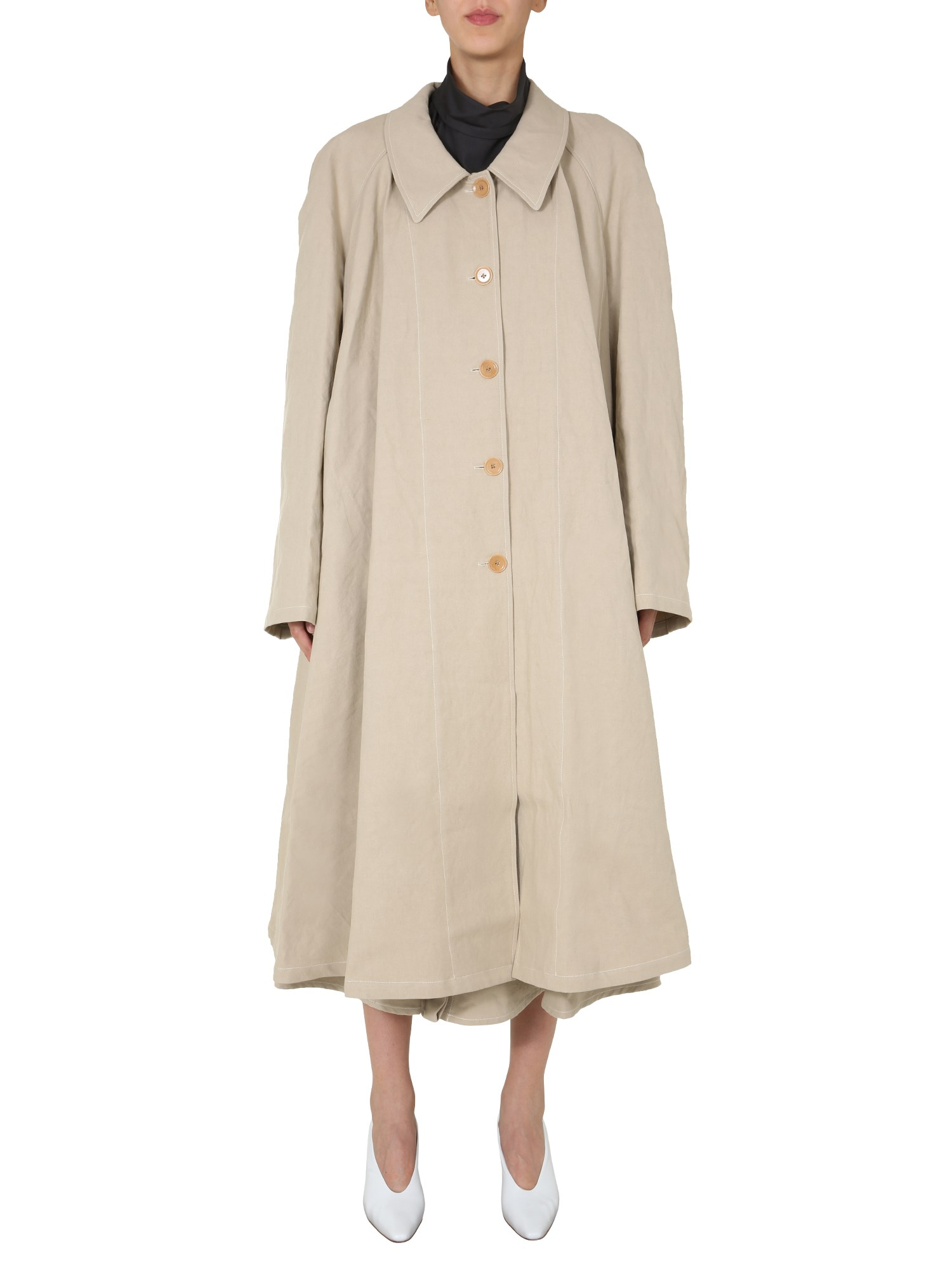 Lemaire Cottons LONG TRENCH