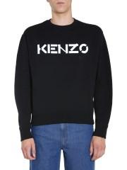 KENZO - FELPA GIROCOLLO
