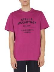 STELLA McCARTNEY - T-SHIRT GIROCOLLO