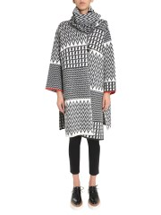 STELLA McCARTNEY - CAPPOTTO IN LANA JACQUARD