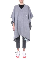 OFF-WHITE - PONCHO OVERSIZE FIT