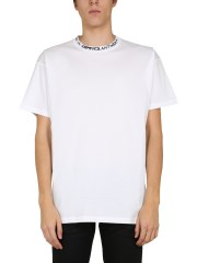 RAF SIMONS - T-SHIRT CON STAMPA KIDS IN AMERICA