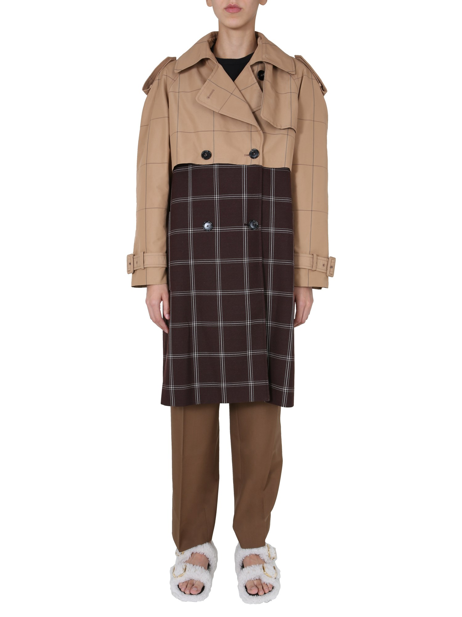 Marni DOUBLE-BREASTED TRENCH