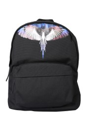MARCELO BURLON COUNTY OF MILAN - ZAINO CON STAMPA WINGS
