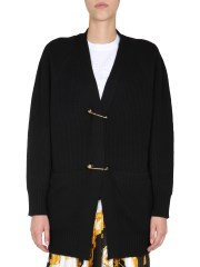 VERSACE - CARDIGAN SAFETY PIN