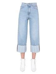 MSGM - JEANS CROPPED FLAIRE
