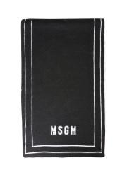 MSGM - SCIARPA CON INTARSIO LOGO
