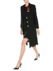 BOUTIQUE MOSCHINO - CAPPOTTO IN STUOIA