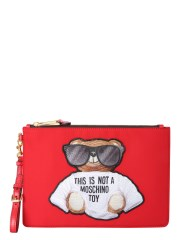 "MOSCHINO - CLUTCH ""TEDDY"""