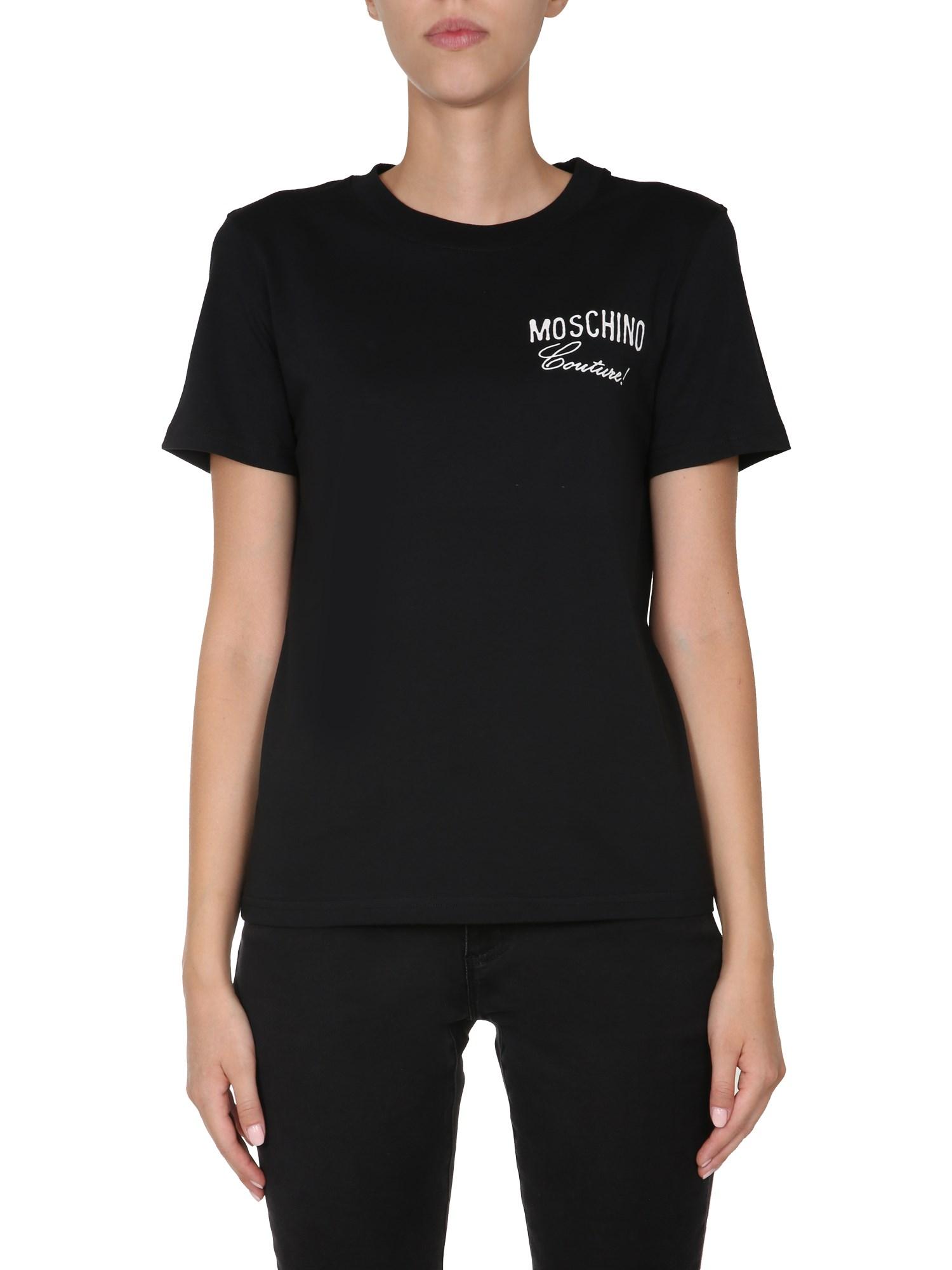 Moschino T-shirts ROUND NECK T-SHIRT