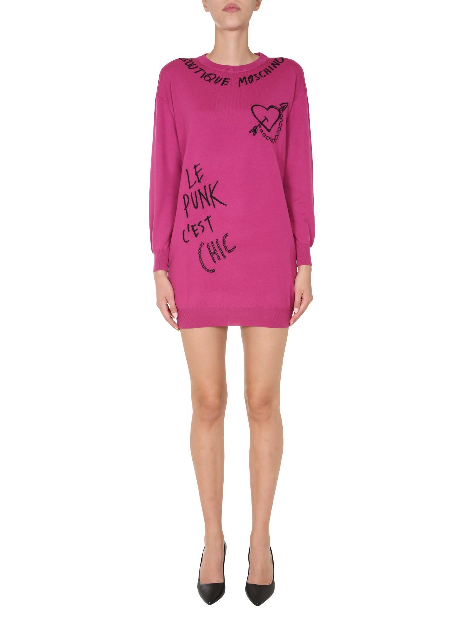 Boutique Moschino Dresses ROUND NECK DRESS