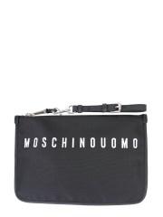 MOSCHINO - POUCH CON LOGO