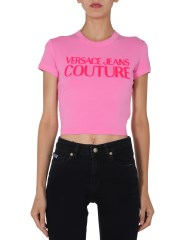 VERSACE JEANS COUTURE - T-SHIRT CROPPED