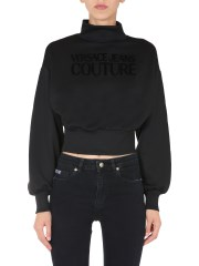 VERSACE JEANS COUTURE - FELPA CROPPED
