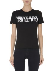VERSACE JEANS COUTURE - T-SHIRT GIROCOLLO