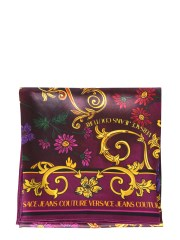 VERSACE JEANS COUTURE - FOULARD CON LOGO E STAMPA