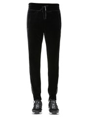VERSACE JEANS COUTURE - PANTALONE IN VELLUTO