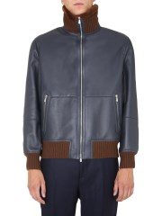 BRUNELLO CUCINELLI - BOMBER IN SHEARLING